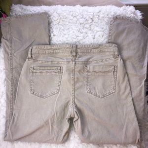 Old navy size 8 short corduroy pants.